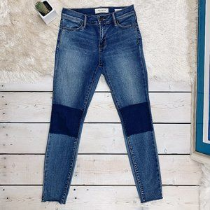 PacSun | Skinny Ankle Knee Patch Jegging Jean